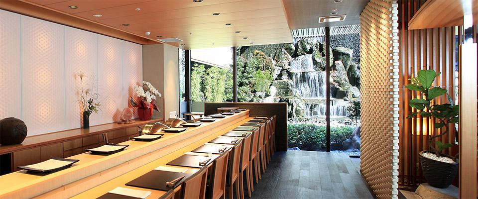 コースで味わう…天麩羅 「敬天」 城山観光ホテル