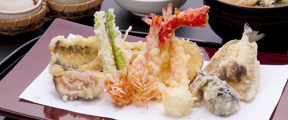 天麩羅 「敬天」 城山観光ホテル 天ぷら料理 keiten2