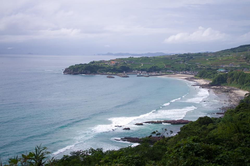 上り浜・汐身の段々畑 「絶景のオーシャンビュー」かごしま百景 長島町 ドライブスポット