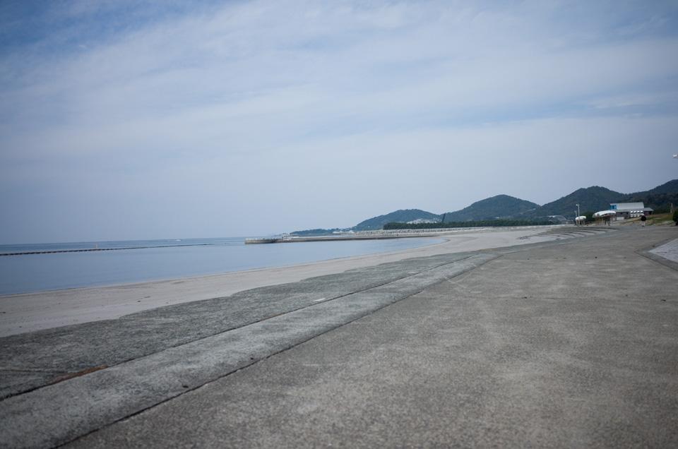 江口浜海浜公園 海 鹿児島県日置市