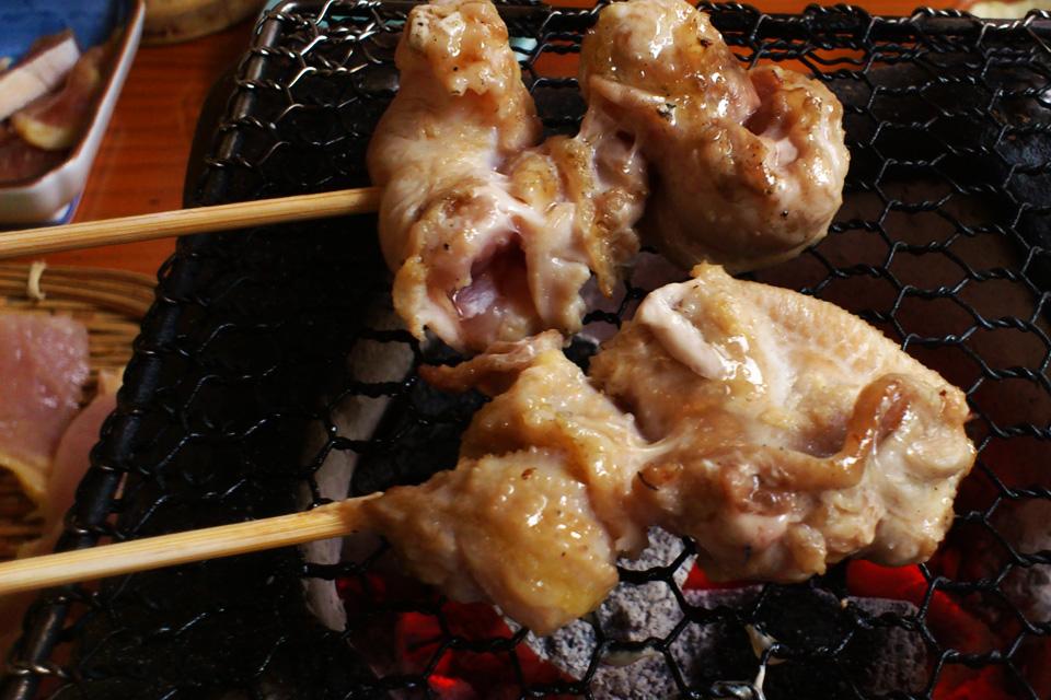 きじのもも肉炭火焼き 「きじや」熊本県人吉市