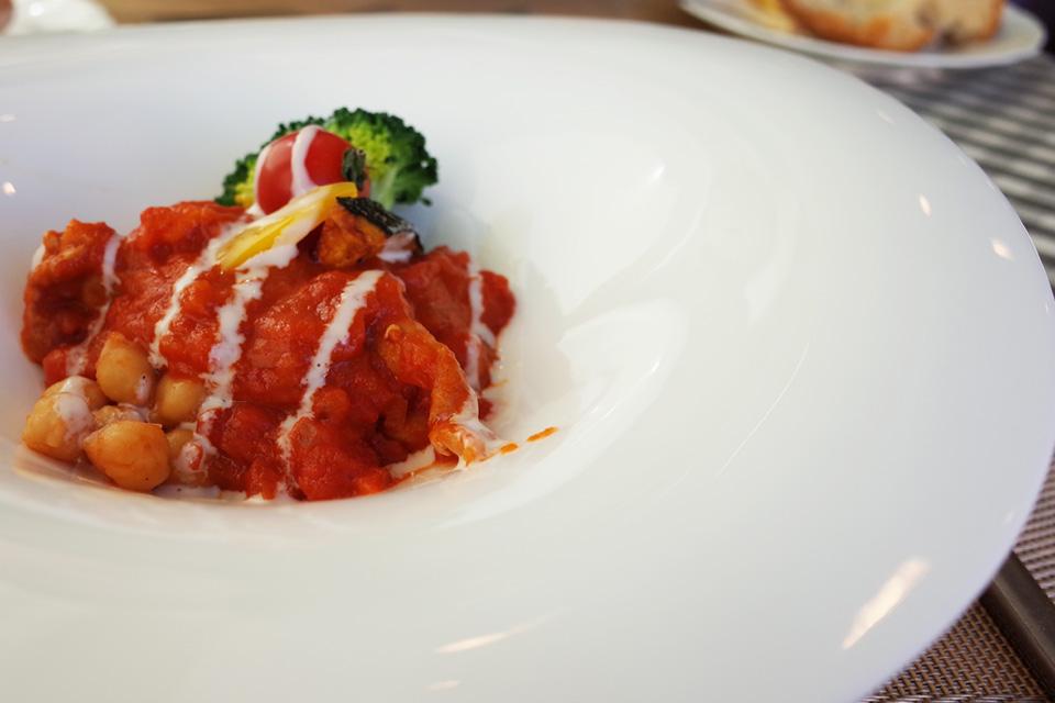 ランチコース 鶏肉料理 フレンチレストラン「Le Plaisir」 薩摩川内市