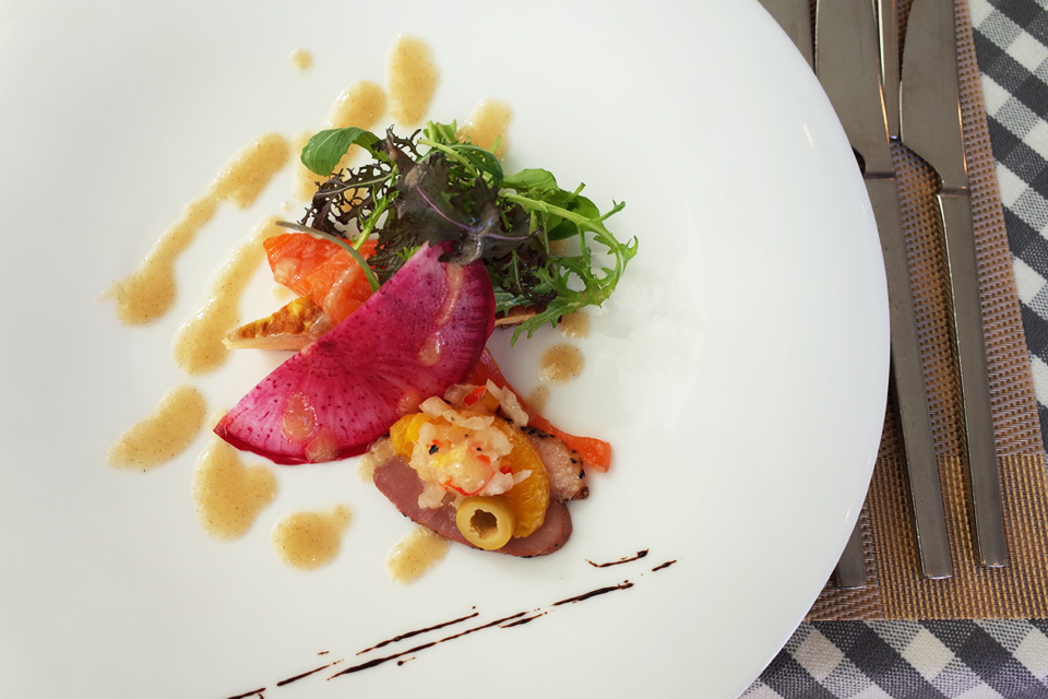 ランチコース 前菜 フレンチレストラン「Le Plaisir」 薩摩川内市