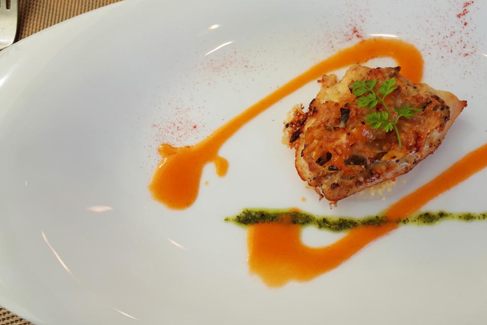 ランチコース 魚料理 フレンチレストラン「Le Plaisir」 薩摩川内市