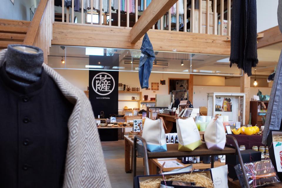 雑貨のお店NUFF店内入口付近- 鹿児島市春山町