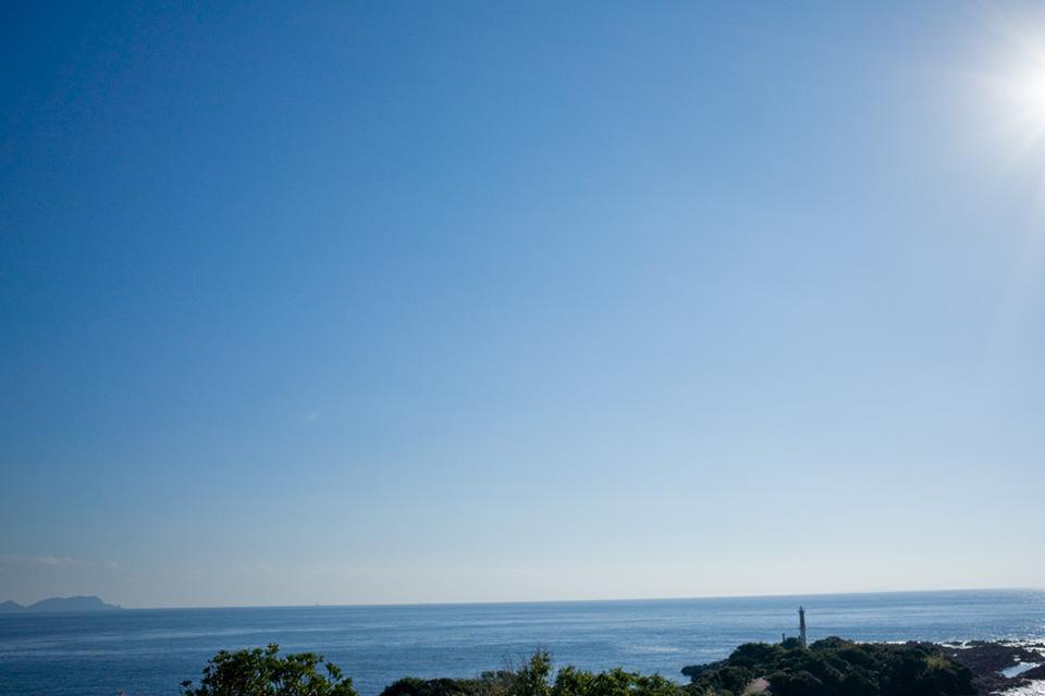 薩摩半島最南端の景色「長崎鼻」指宿市