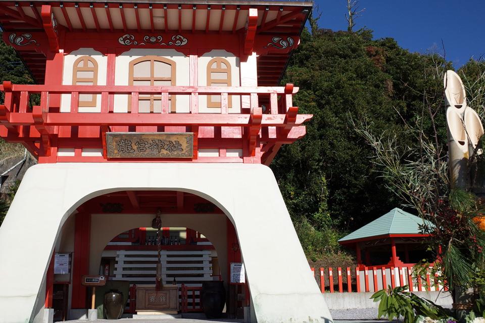 竜宮神社「長崎鼻」指宿市