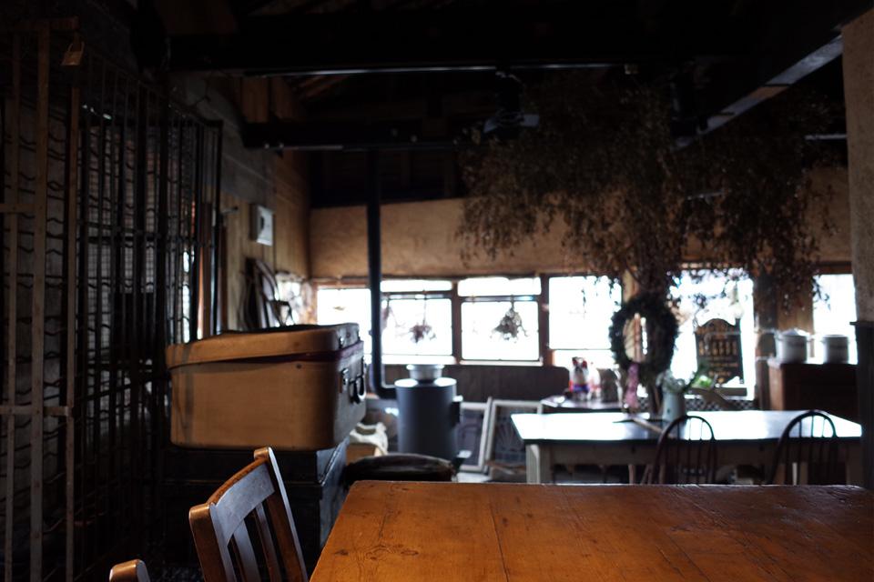 テーブル席 古民家カフェ・スーベニア 姶良市蒲生町