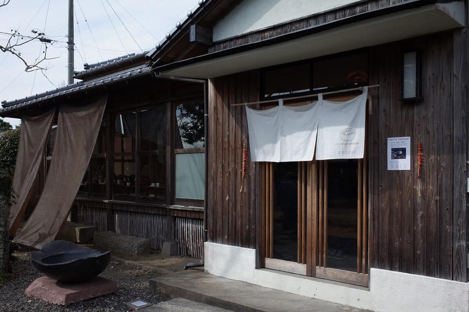 武家屋敷/古民家のカフェ店舗外観「蒲生茶廊ZENZAI (ぜんざい)」姶良市蒲生町