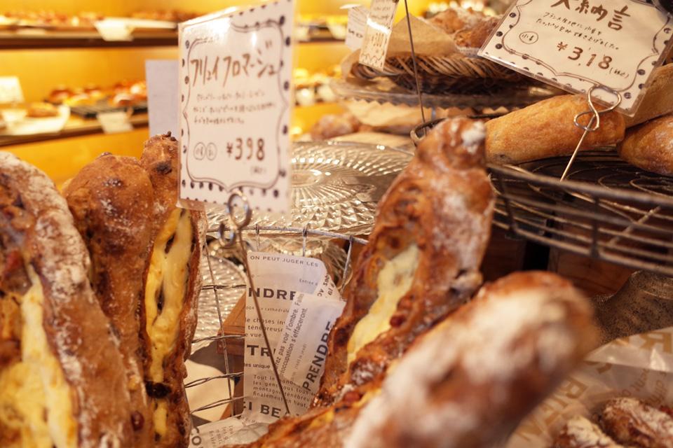 店内・フランスパン bakery hacos. 鹿児島県姶良市