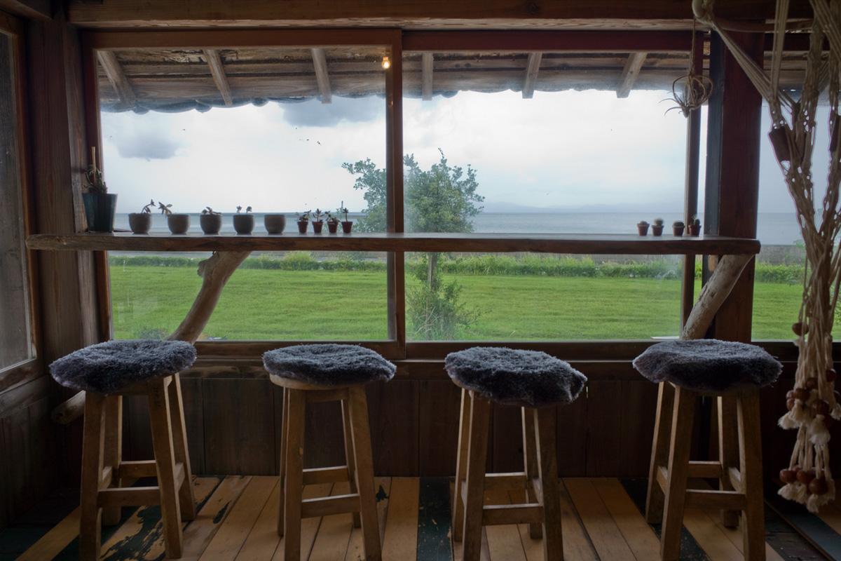 海の見える古民家カフェ 絶景のカウンター席 red bluff cove 鹿児島県鹿屋市