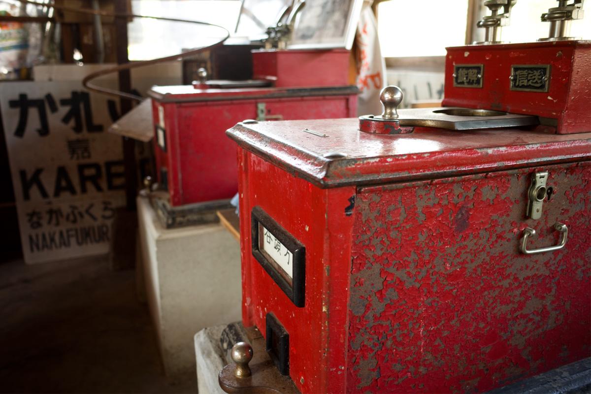木造駅舎展示品-JR肥薩線「嘉例川駅」鹿児島県霧島市