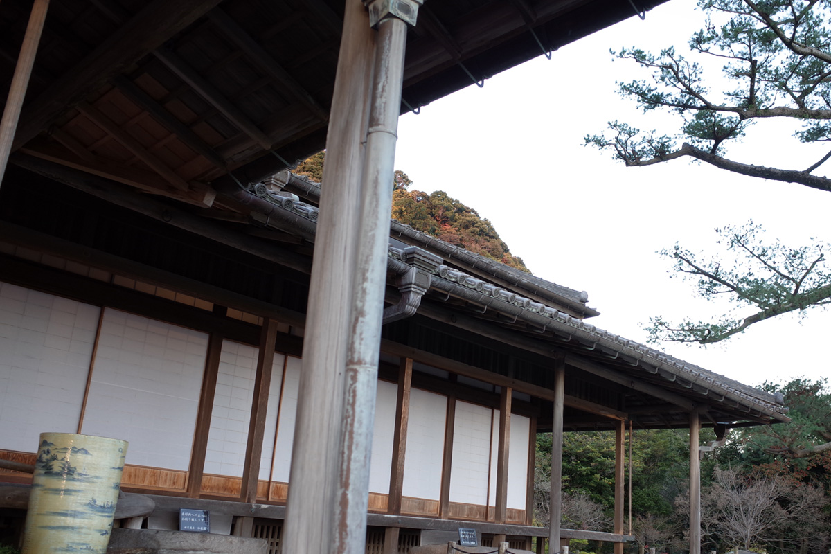 島津藩別邸2「仙厳園」鹿児島市吉野町
