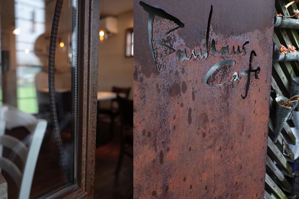 アイアン家具「バウハウスカフェ (Bauhaus Cafe)」霧島市国分