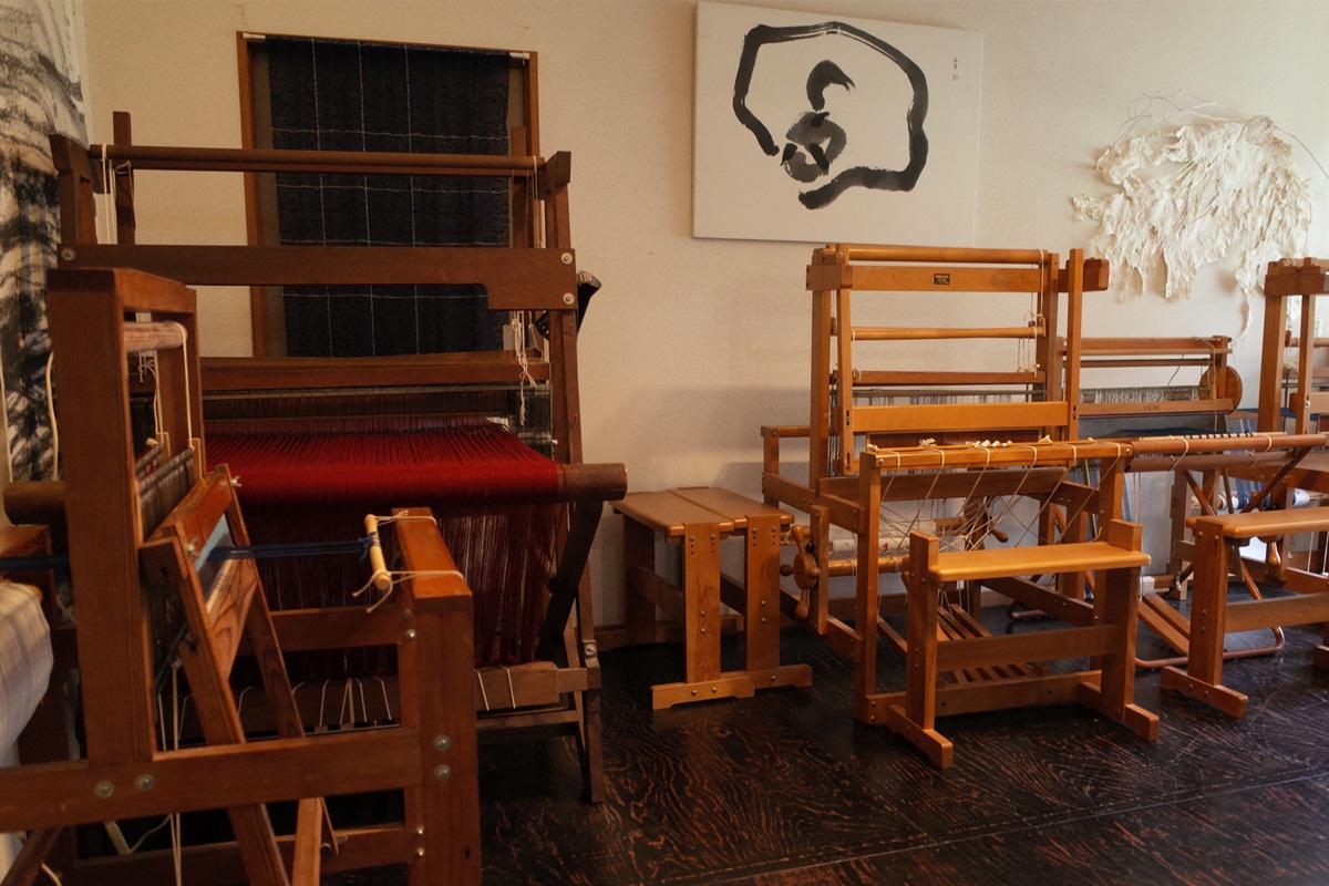 教室・コースター体験、織機「和紙ギャラリー」姶良市蒲生