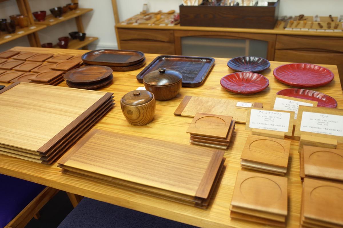 木製の器・雑貨の「CLOVER FURNITURE」鹿児島県指宿市