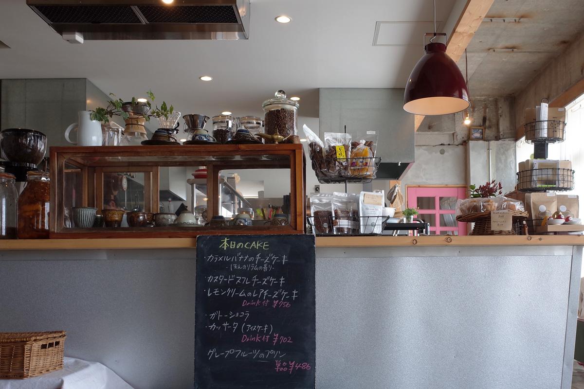志布志のカフェ 「Meals and Grind/Drive Inn(ミールス アンド グラインド ドライブイン)」キッチン 鹿児島県志布志市