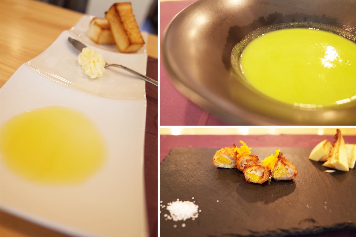 四季のコース料理 スープ 肉料理 モンシェールアミ(Moncherami) 鹿児島県霧島市