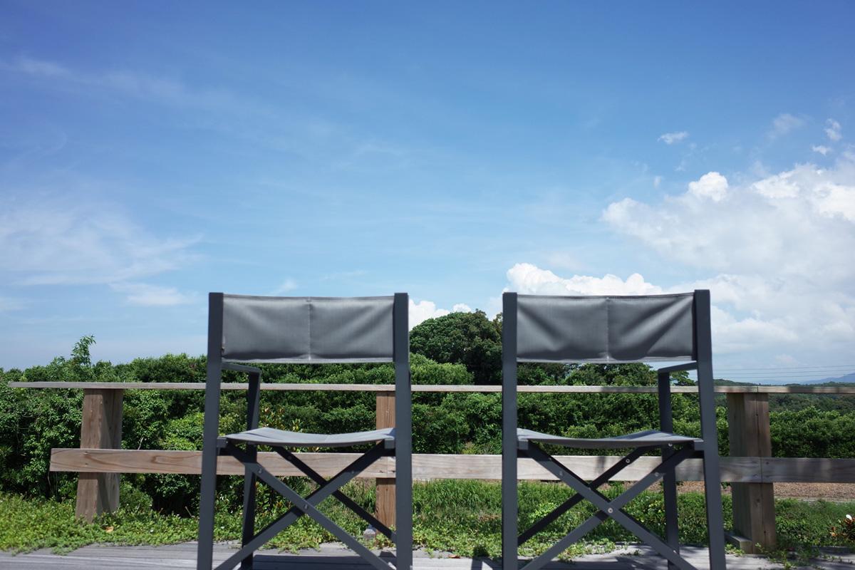 鹿児島県阿久根市の展望席「テラスカフェ空」
