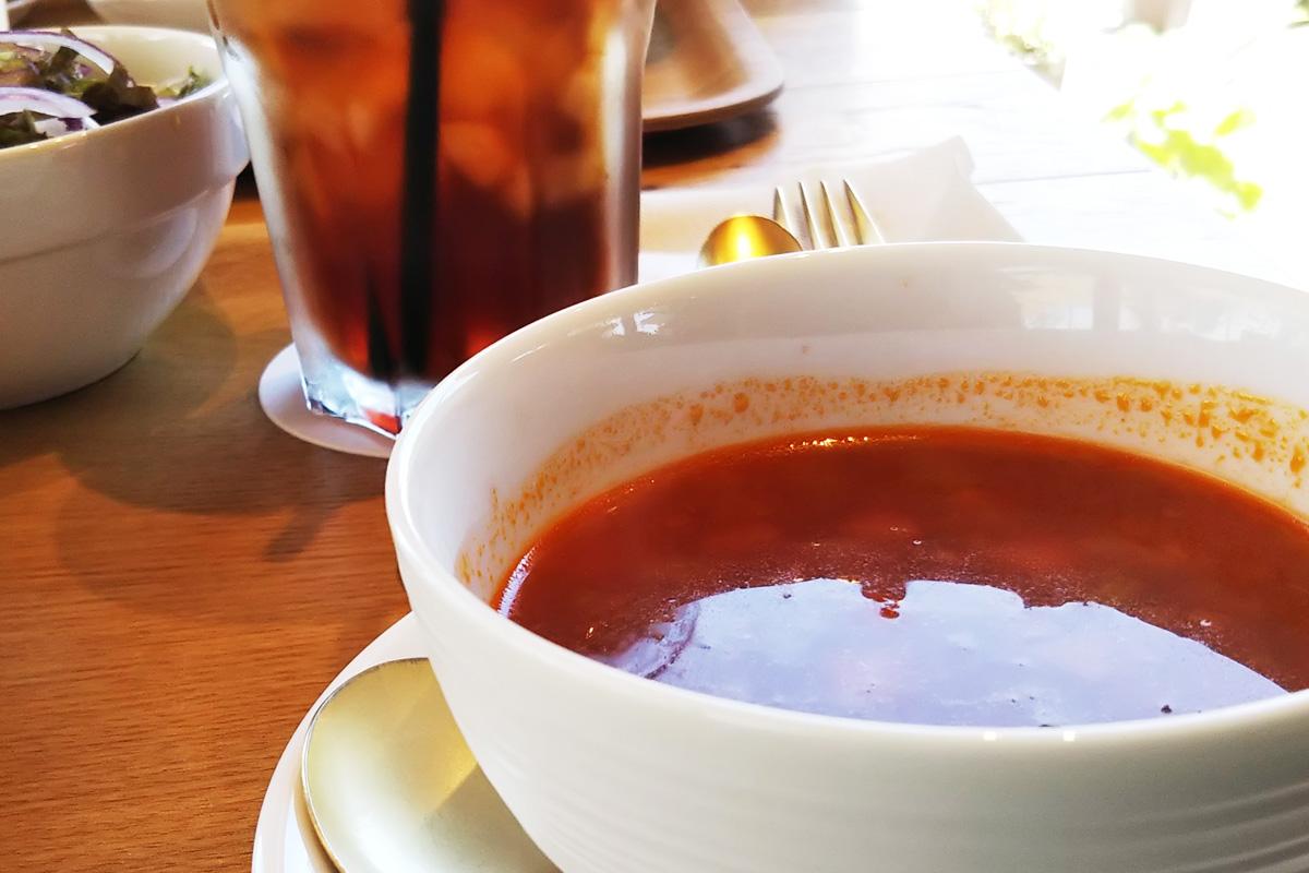 鹿児島県阿久根市の「テラスカフェ空」スープ&ドリンク