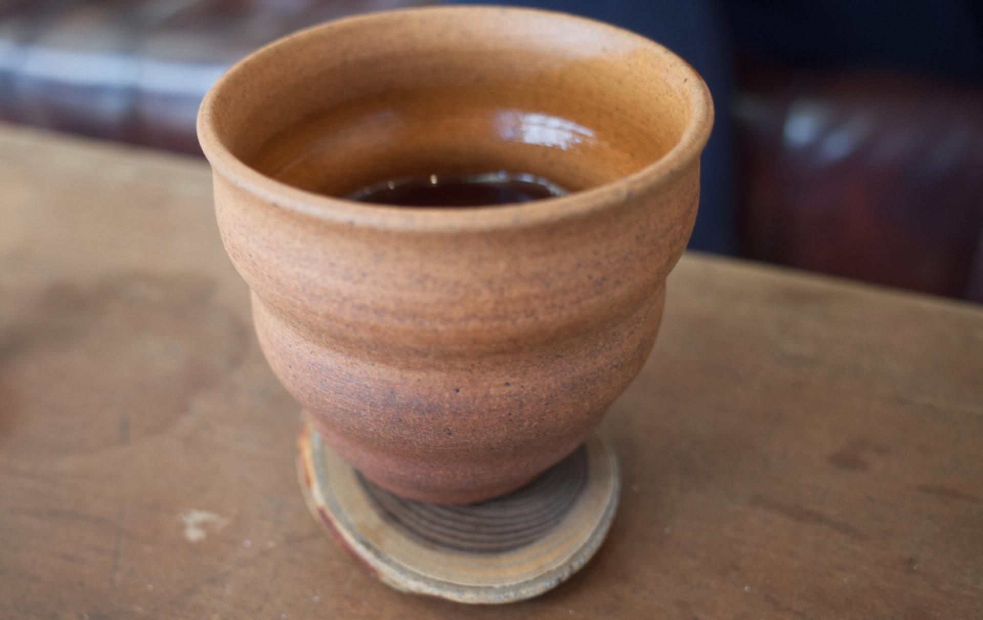 陶器カップ&コーヒー「chichinpuipui cafe(ちちんぷいぷいカフェ)」霧島市国分上井